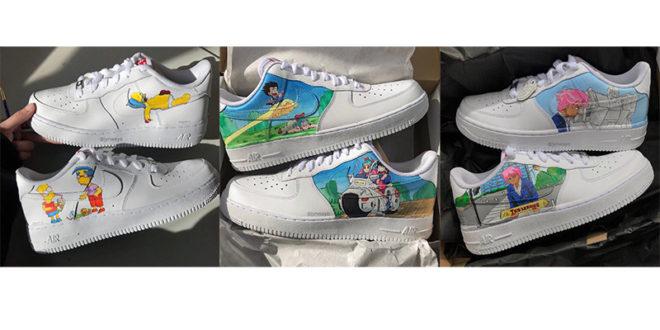 Le Sneakers sono la tua passione? C'è chi le personalizza per te!