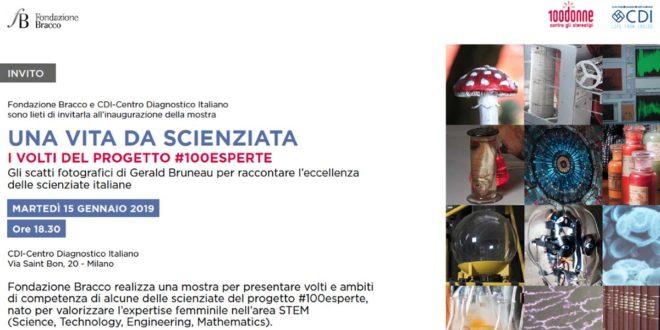"""La mostra: """"Una vita da scienziata – I volti del progetto #100esperte"""""""