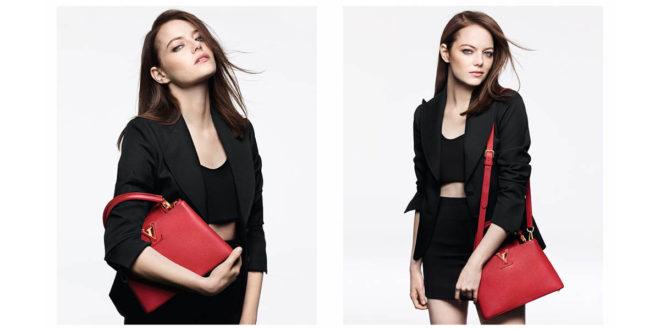 """Louis Vuitton, la Stone è il volto della nuova adv dedicata alle """"iconic bags"""""""