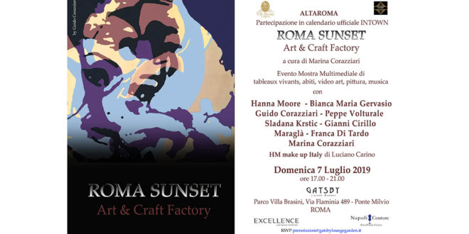 Roma Sunset Art&Craft Factory