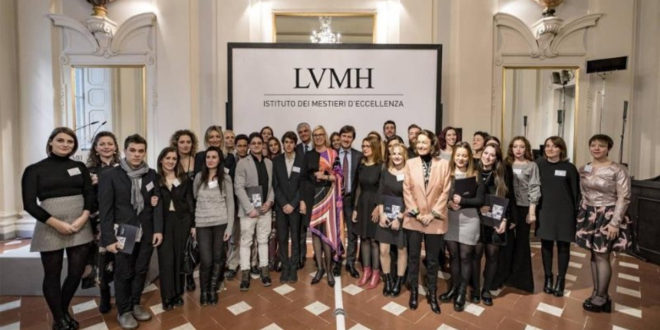 LVMH in partnership con l'Italia