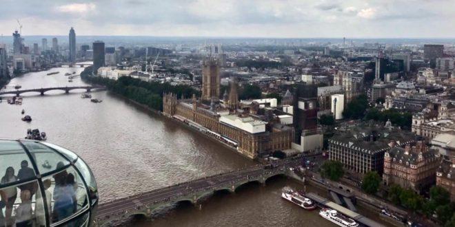A Londra tra terrazze e tour culinari per le vie della città