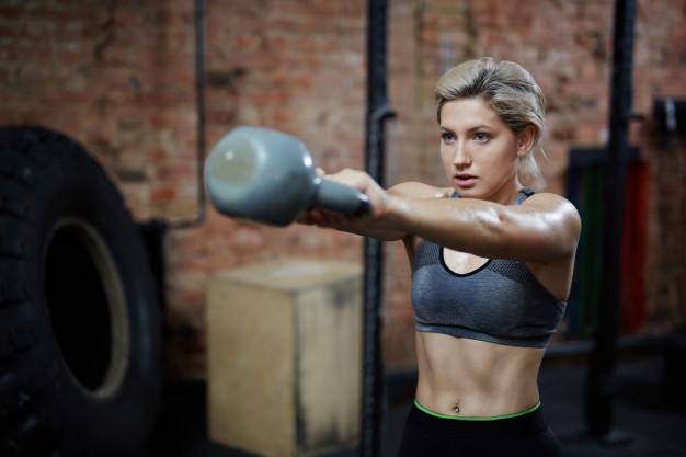 Muscoli tonici, allenamento, integratore alimentare