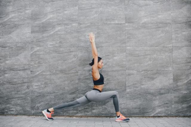 Stretching, yoga