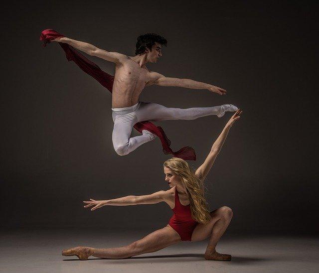 Flexibility, ballet dancers