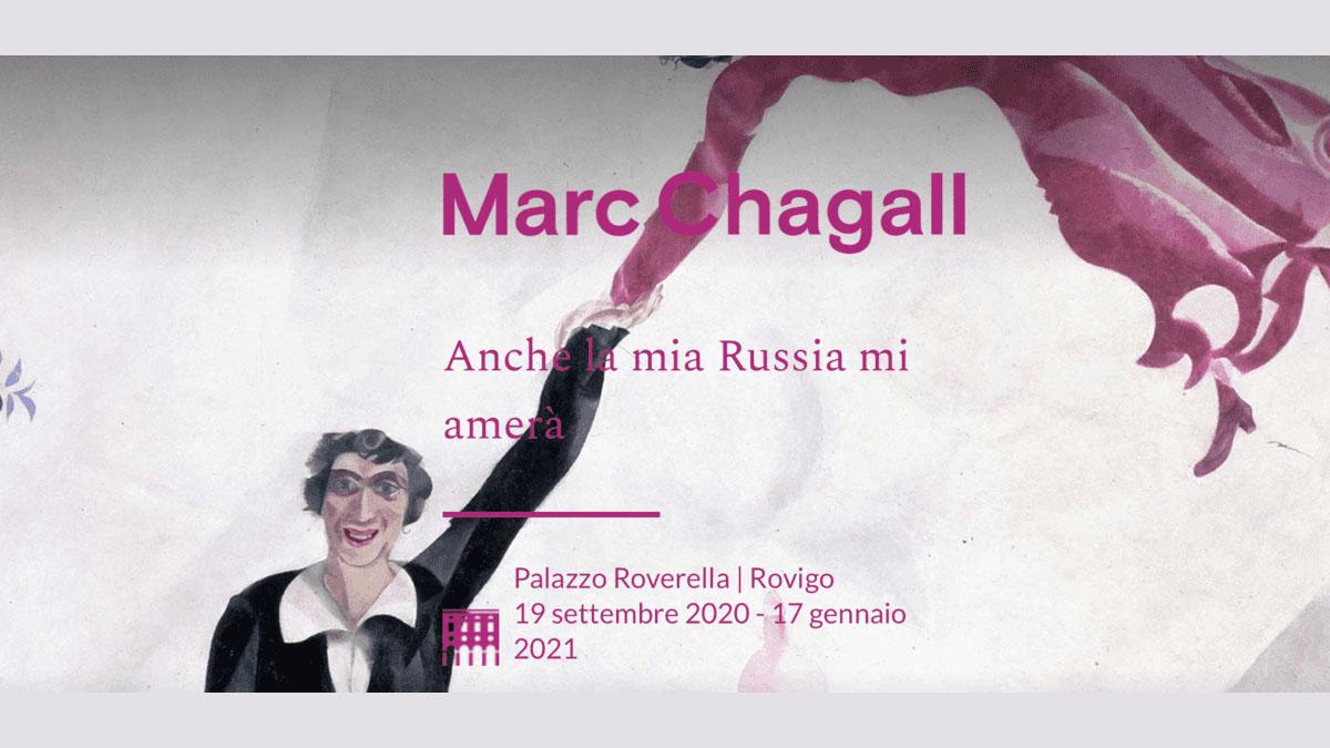 marc chagall palazzo roverella